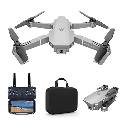 Greaked E68 pro 2.4G Selfie WiFi FPV with 4K HD Camera Foldable RC Quadcopter RTF Quadcopter Height to Maintain Drone…