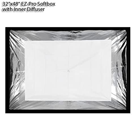 Fotodiox EZ-Pro Strip Softbox 9x36 22x90cm Norman LH and Compatible - Collapsible Strip Softbox with Norman 900 Speedring for Norman 900