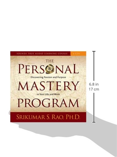 The personal mastery program discovering passion and purpose in the personal mastery program discovering passion and purpose in your life and work sounds true audio learning course srikumar s rao 9781591799481 fandeluxe Choice Image