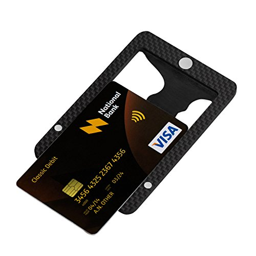 check out a550c 25763 PITAKA Magwallet,Minimalist Slim Carbon Fiber Modular Card - Import ...