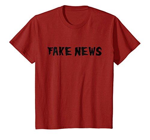 Kids Fake News Trumps Worst Nightmare Halloween T-Shirt