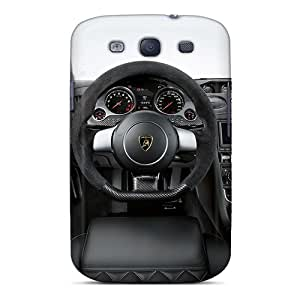 Premium Protection Lambo Interior Case Cover For Galaxy S3- Retail Packaging