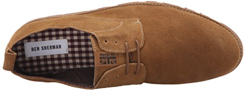 Ben Sherman Mens Darius Slepe Oxford Tan
