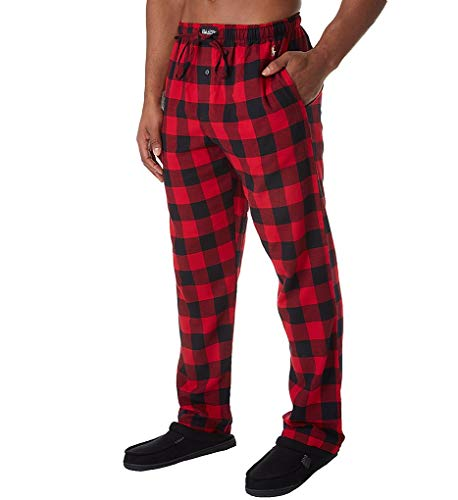 Polo Ralph Lauren Woven Flannel Pajama Pants, M, Preston Plaid