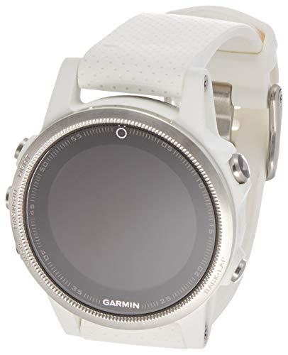 Garmin Fenix 5S White with Carrara White Band, One Size