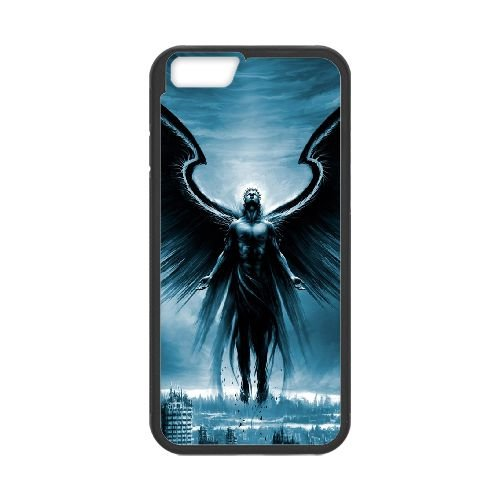 Angle L coque iPhone 6 4.7 Inch cellulaire cas coque de téléphone cas téléphone cellulaire noir couvercle EEEXLKNBC26582