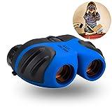 Binocular for Kids, Three Ducks Compact Birding Wide Field of Wiew Binocular Teen Boy Birthday Presents Gifts Boys Toys 3-12(Blue) For Sale