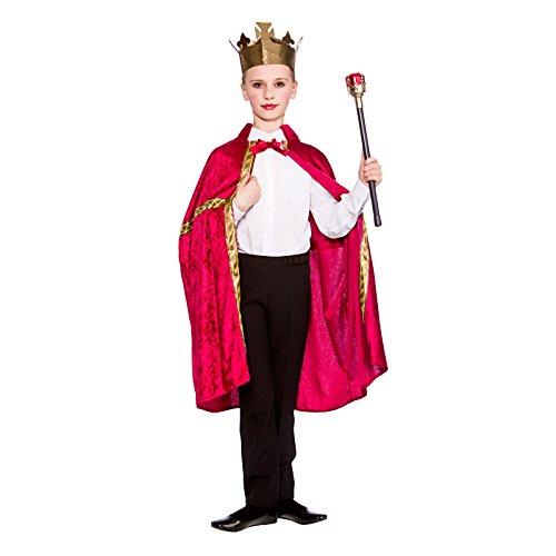 (Deluxe King/Queen Robe & Crown Burgundy (8-10) **NEW** )