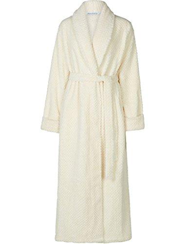 Slenderella Robe de Chambre a Manches Longues - Creme HC6329