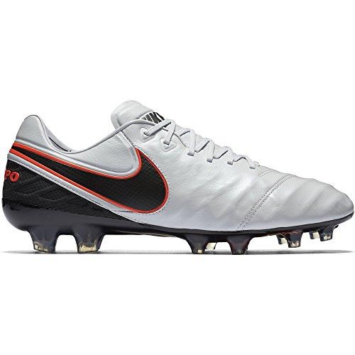 Legend FG Pltnm Blk Nike slvr hypr VI Arancio Mtllc Tiempo Pr O Nero Bianco Scarpe da Calcio Uomo 5qH7tHFw
