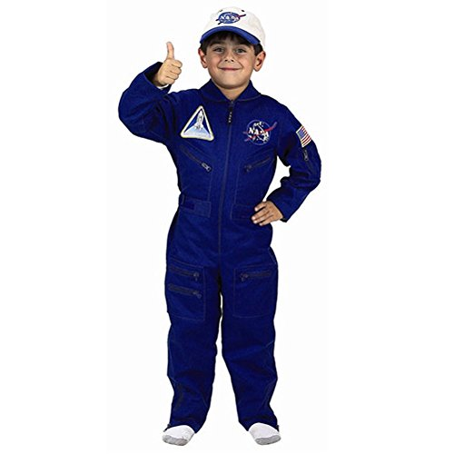 [Jr. Flight Suit Child Costume - Toddler] (Astronaut Costumes Toddler)
