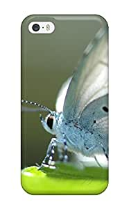 Durable Case For The Iphone 5/5s- Eco-friendly Retail Packaging(white Butterfly)