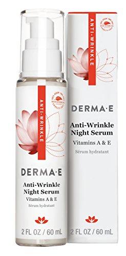 Derma E Anti-Wrinkle Vitamin A Night Serum, 2 Fluid Ounce