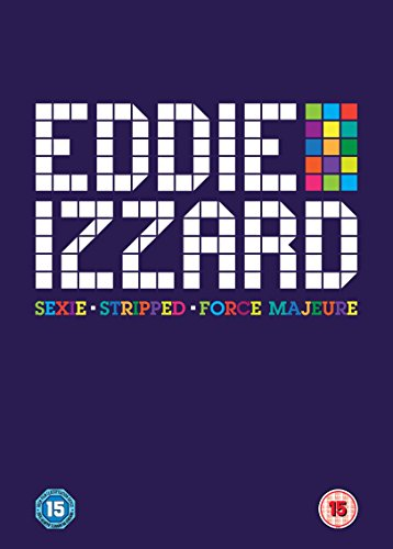 Eddie Izzard: Sexie, Stripped, Force Majeure [DVD] [2013]