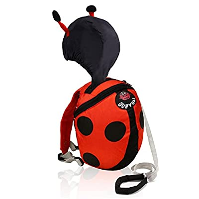 Toddler Backpack, Toddler Leash, Baby Leash, Safety Harness for Kids Harness Backpack with Hat for Boys & Girls, Toddler Anti-Lost