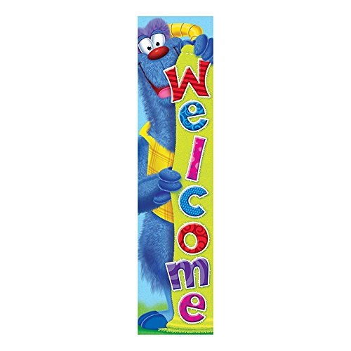Trend Enterprises T-25060BN 3 Each 5 ft. Welcome Furry Friends Quotable Expressions Banner