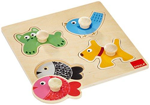 Goula-Puzzles-animales-domsticos-piezas-de-madera-Diset-53116