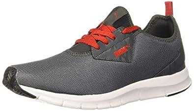 Puma Men's Camo Idp Dark Shadow-high Risk Red Sneaker