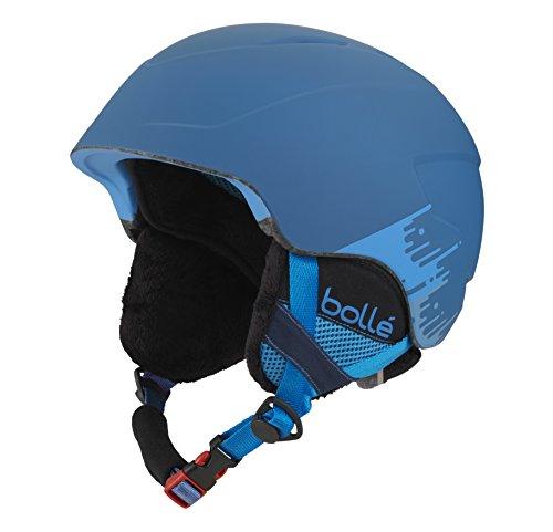 Bollé Casco de esquí B de Lieve Soft Blue Brush, 51 - 53 cm, 31213: Amazon.es: Deportes y aire libre