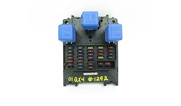 2001-2003 infiniti qx4 interior fuse box 243505w000 oem, condenser ...  amazon.ca