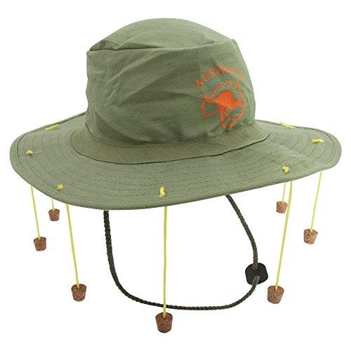 Adults Australian Hat with 10 Strung Corks Kangaroo Fancy Dress Party Hat