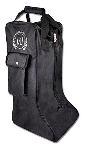 bottes waldhausen stiefelbeutel sac pour poche reitstiefeltasche avec noir déquitation housse Cette C48wqpv