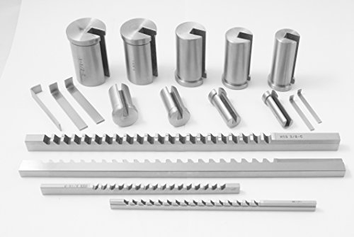 HHIP 2006-0053 13 Piece Keyway Broach Set by HHIP