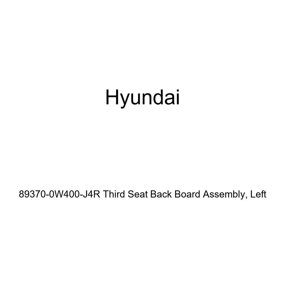 Left Genuine Hyundai 89370-0W400-J4R Third Seat Back Board Assembly