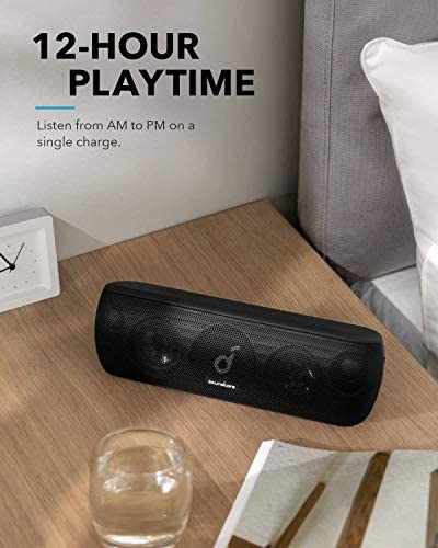 Anker Soundcore Motion+ Bluetooth Speaker with Hi-Res 30W Audio, Extended Bass and Treble, Wireless HiFi Portable Speaker with App, Customizable EQ, 12-Hour Playtime, IPX7 Waterproof, and USB-C 416 2BCRlrlHL
