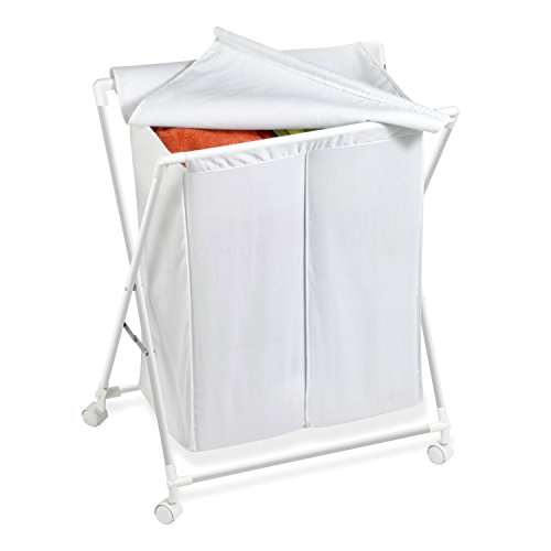 Honey Can Do HMP 01386 Rolling Laundry Removable