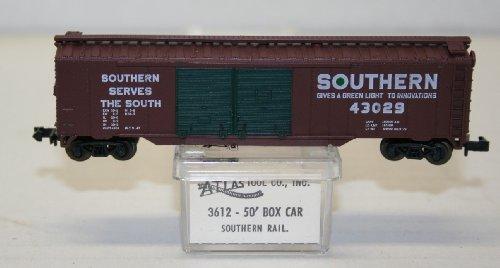 N Scale ATLAS Double 2 Door Box Car