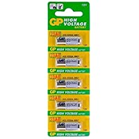 GP TRP TRADERS 5 Pieces Pack of 23A 12V High Voltage Cell Car Remote Battery, 23AE-C5 A23 MN21 LRV08