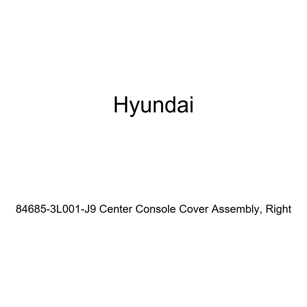 Right Genuine Hyundai 84685-3L001-J9 Center Console Cover Assembly