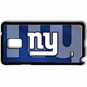 Personalized Samsung Note 4 Cell phone Case/Cover Skin 1216 new york giants Black