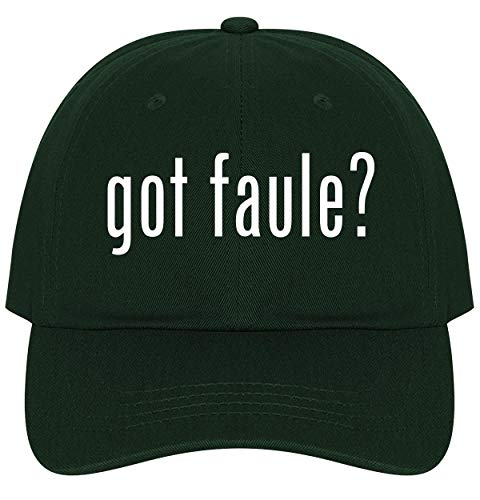 The Town Butler got Faule? - A Nice Comfortable Adjustable Dad Hat Cap, Forest