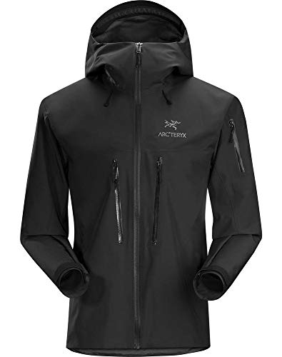 Arc'teryx Men's Alpha SV Jacket Black Small