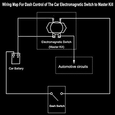 Car Wireless Remote Control Battery Switch Disconnect ... on