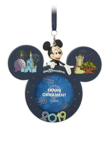(Walt Disney World 2019 Mickey Mouse Frame Ornament with Stand)