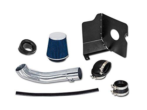 2004 2005 CHEVROLET Sierra, Silverado 2500HD, 3500 V8 6.6L Duramax LLY Heat Shield Intake Blue HSI-CH8blue by High performance parts