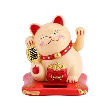 Amazon.com: Ochoos - Gato de la suerte chino de la mano de ...