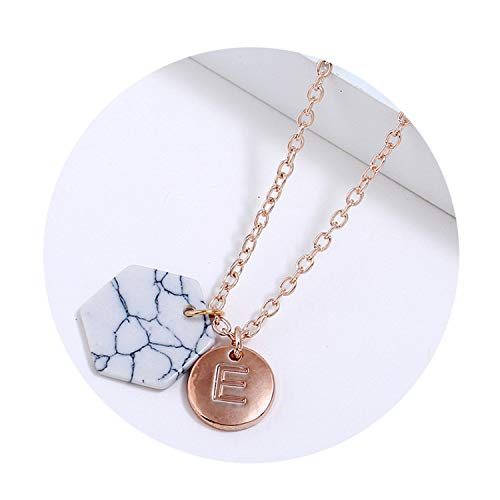 Casino Royale Ladies Costumes - Round Initial Two Pendant Initial Letter