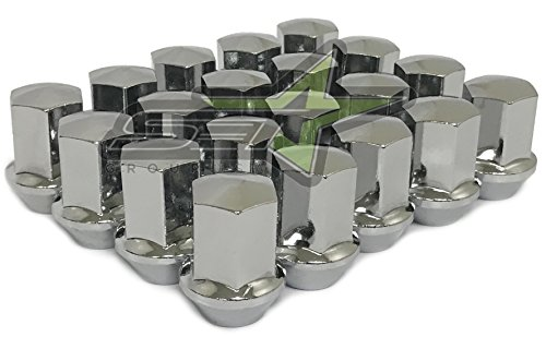 Supreme Engineering Technologies 20 Dodge OEM Lug Nuts | 9/16 | RAM 1500, Durango, Dakota, Raider, Factory LUGS (Chrome)