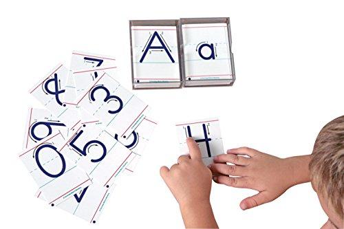 School Specialty Advantage Tactile Cards - Uppercase Letters (Tactile Uppercase Letters)