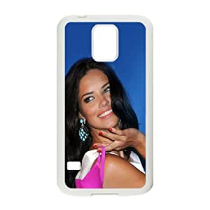 Samsung Galaxy S5 Cell Phone Case White adriana lima shiny sexy woman LSO7917043
