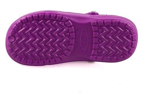 amp; Purple Unisex Clogs Purple Shibit 7900010 DUX Chung Shoe Set Adults Mules Shi 8wBqwP