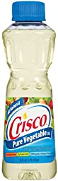 Crisco Pure Vegetable Oil 16 oz (Pack of 12)