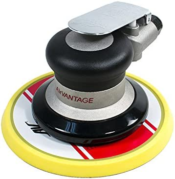 AirVANTAGE 6 Random Orbital Palm Sander with Pad 3 16 Orbit with PSA Vinyl Pad