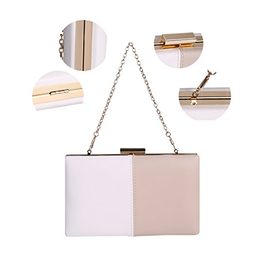 Woman Colour For Evening Beige Bag Mix nwYAPxqq