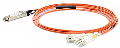 (LODFIBER 1m (3ft) QSFP-8LC-AOC1M Cisco Compatible 40G QSFP+ to 4 Duplex LC Breakout Active Optical Cable)