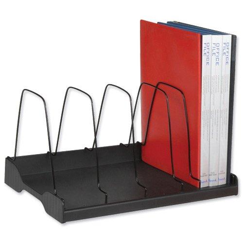 Arnos Eco-Tidy - Organizer per libri a 6 vani, 388 x 275 x 220 mm (L x P x A), rif. E120, colore nero Arnos (Australia) Pty Ltd 277695